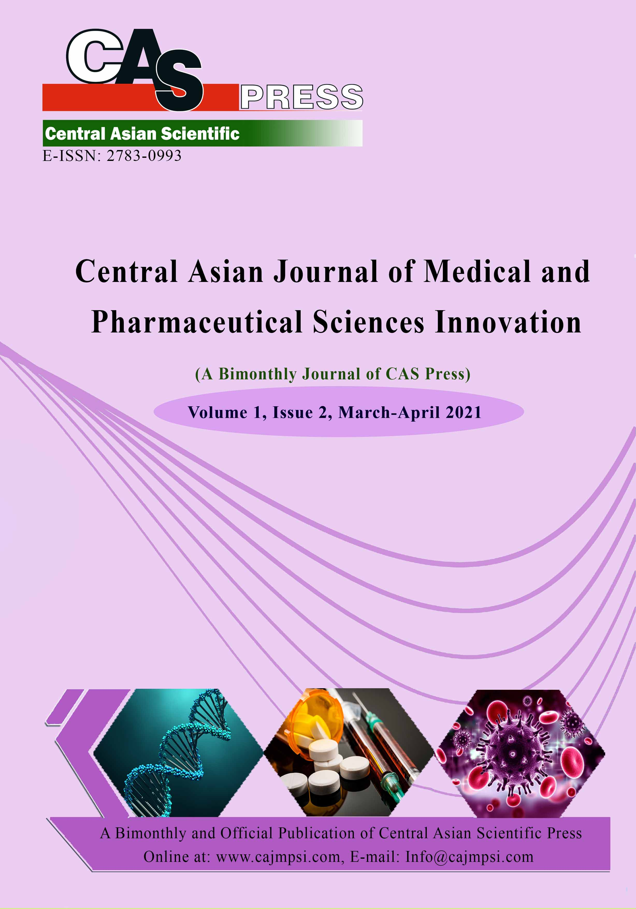 Central Asian Journal of Medical and Pharmaceutical Sciences Innovation